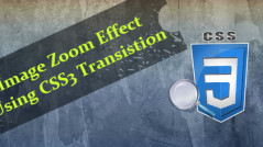 Zoom Effect Using CSS3