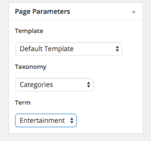 WordPress Custom Taxonomy & Category Pages